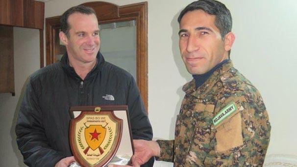 PKK'dan Obama'nın özel temsilcisine plaket