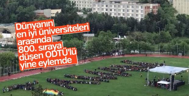 ODTÜ'lü öğrenciler dersi bıraktı eyleme başladı