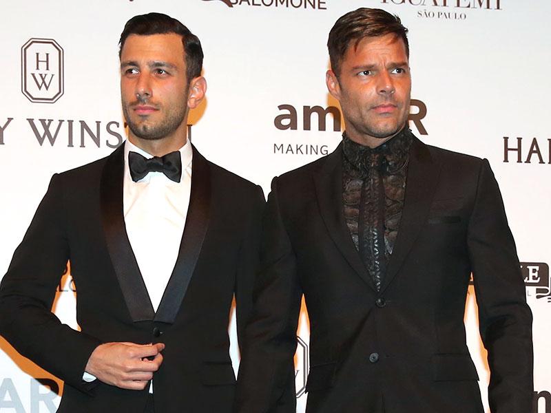 Ricky Martin evlendi