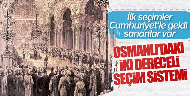 Türkiye'nin ilk vekil seçimi Osmanlı'da yapıldı