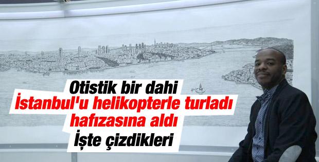 Dahi Bellek Stephen Wiltshire İstanbul'u çizdi