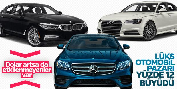 Lüks otomobil satışları ilk çeyrekte yüzde 12 arttı
