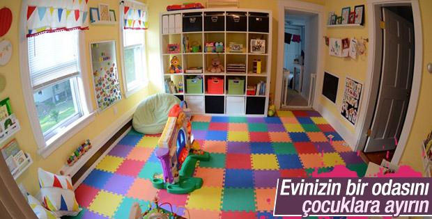 Çocuklar için oyun odası tasarım fikirleri