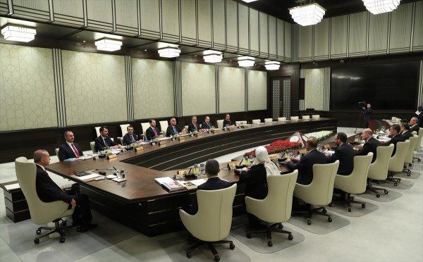 Başkanlık Külliyesi'nde ilk kabine toplantısı