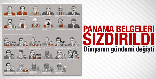 Panama belgeleri yayınlandı