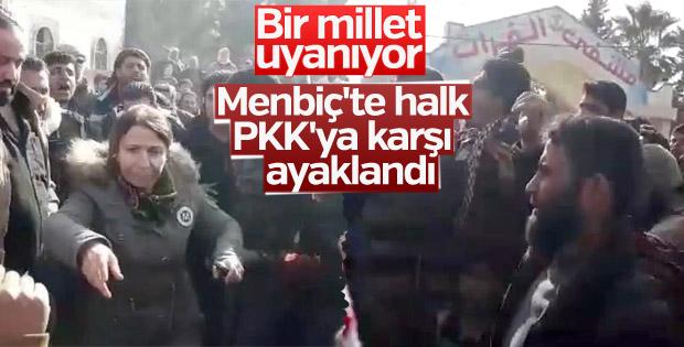 Menbiç halkı: PKK kenti terk etsin