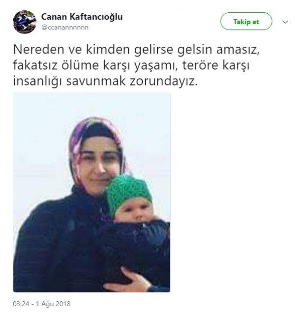 Canan Kaftancıoğlu da PKK'yı kınayamayanlardan