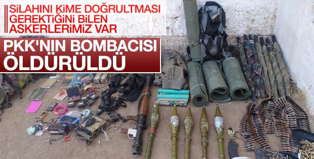 PKK'nın keskin nişancısı ve bombacısı öldürüldü