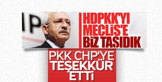 Terör örgütü PKK, emanet oylardan memnun