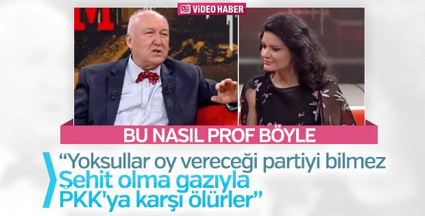 Prof. Ahmet Ercan canlı yayında insanları aşağıladı