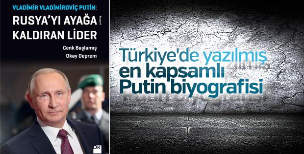 Cenk Başlamış, Putin kitabını Ensonhaber'e anlattı