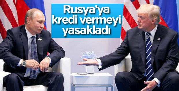 ABD'nin Rusya'ya yönelik yeni yaptırımları belli oldu