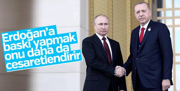 Putin: Erdoğan'a baskıyla sonuç elde etmek zor