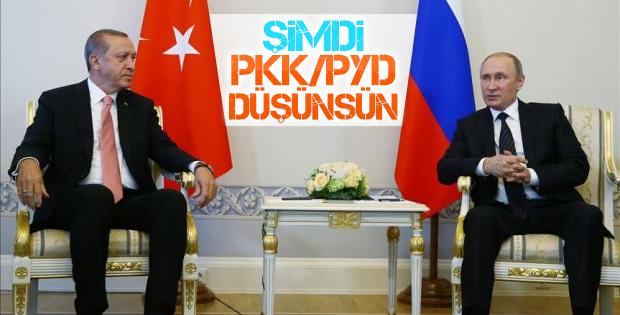 Putin: PYD ofisini ilk kez duydum