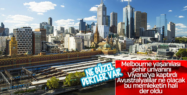 Viyana dünyanın en yaşanılabilir kenti seçildi