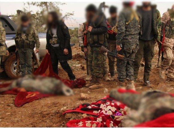Burseya'da teröristler ele geçirildi