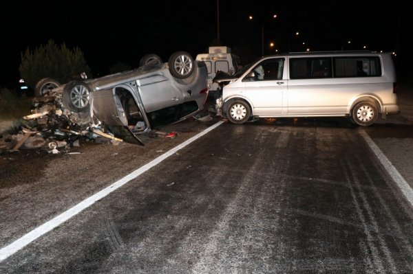 Nevşehir'deki kazada 1 ölü 9 yaralı