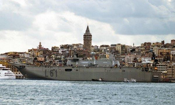 Türkiye'nin ilk uçak gemisinin gövdesi tamamlandı