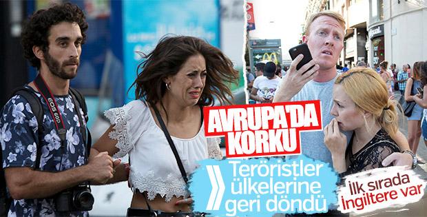 Avrupalı teröristler ülkelerine dönüyor