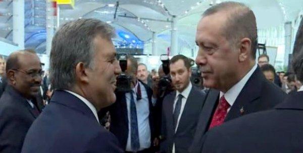 Abdullah Gül İstanbul Yeni Havalimanı açılışına katıldı