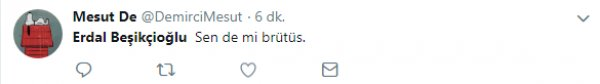 Bu sefer de Erdal Beşikçioğlu sosyal medyada linç ediliyor