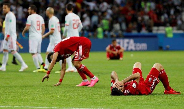 İsrailliler İspanya-İran maçını yakından takip etti