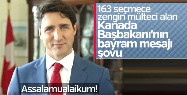 Kanada Başbakanı Trudeau'dan bayram mesajı