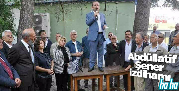CHP'li Abdüllatif Şener'e her yerde tepki gösteriliyor