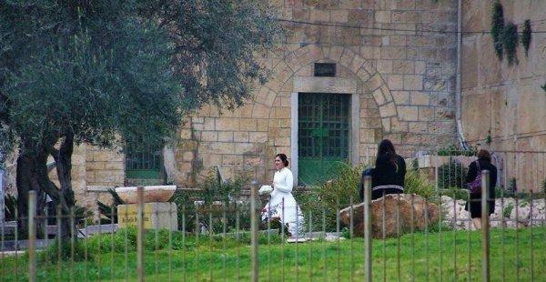 Yahudi yerleşimciler İbrahim mescidinde düğün yaptı