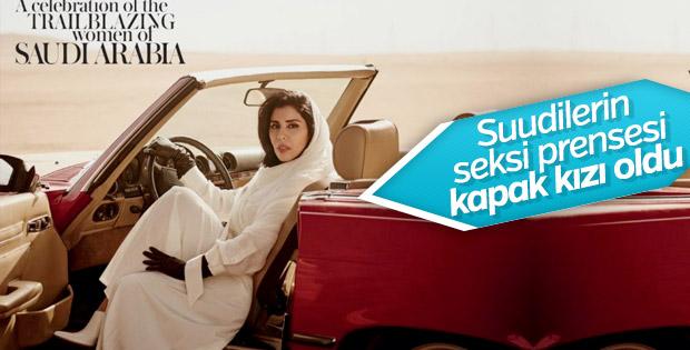 Suudi Prenses Vogue dergisine kapak oldu