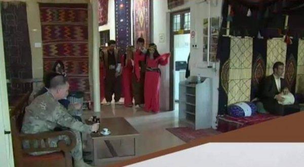ABD'li askeri yetkililer YPG'yi ziyaret etti