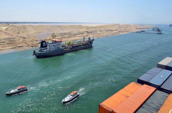 Süveyş Kanalı mayıs ayında para bastı