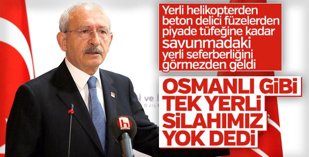 Kılıçdaroğlu'ndan skandal silah benzetmesi