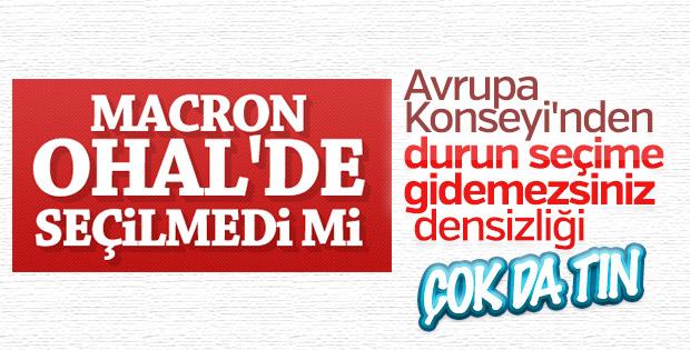 Avrupa'dan Türkiye'ye seçimleri erteleyin çağrısı