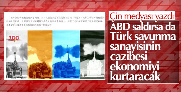 Türk savunma sanayii Çin basınında
