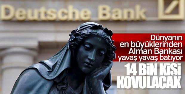Deutsche Bank'ta dev küçülme