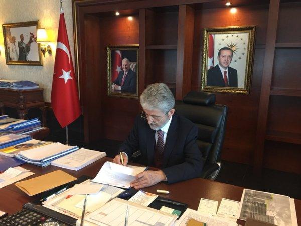 Ankara'da Zeytin Dalı değişikliği
