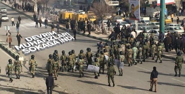 İran Devrim Muhafızları üç kentte konuşlandı