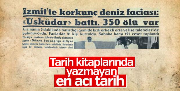Türkiye'nin en büyük deniz faciası: Üsküdar kazası