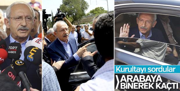 Kemal Kılıçdaroğlu kurultay sorusuna cevap vermedi