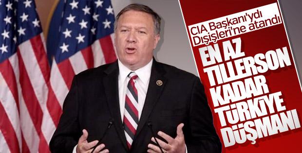 ABD'nin yeni Dışişleri Bakanı da Türkiye düşmanı