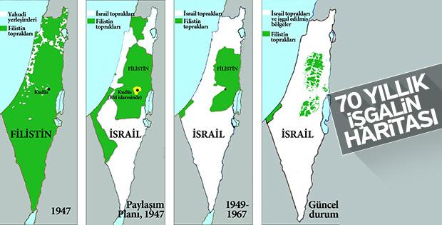Kudüs yarım asırdır işgal altında