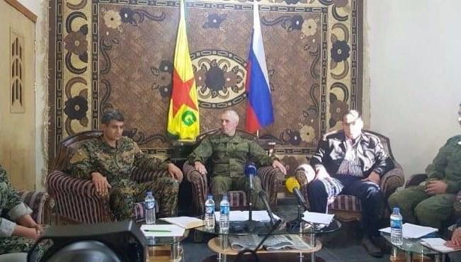 YPG'den Rusya ve ABD'ye özel teşekkür