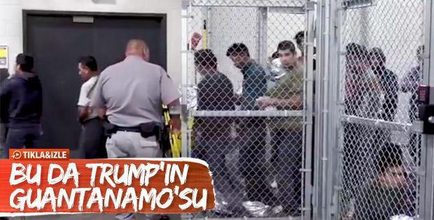 Trump'ın Texas'taki toplama kampları