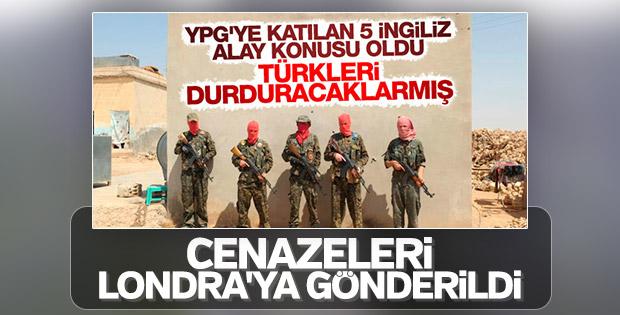 İngiliz YPG'lilerin cesetleri Londra'ya gönderildi