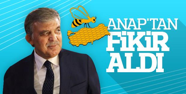 ANAP: Abdullah Gül ile görüştük