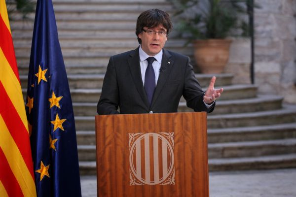 Katalan lider DHKP-C'li teröristin avukatını tuttu
