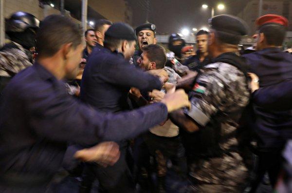 Ürdün'de protestolar şiddetleniyor