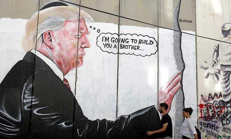 Avustralyalı sanatçıdan Filistin protestosu