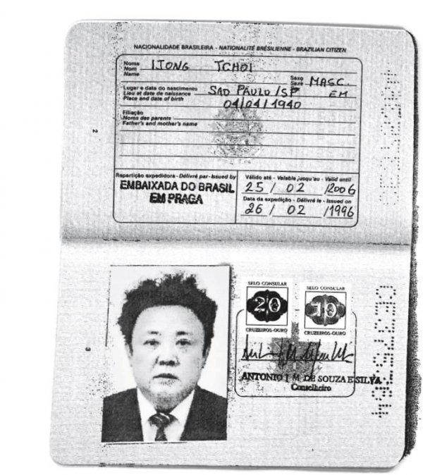 Kim Jong ve babası sahte pasaport yaptırmış